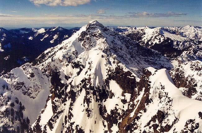 Kaleetan Peak from the east...