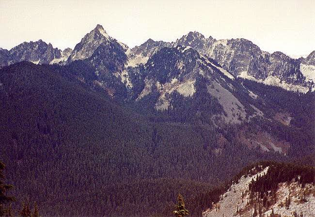 Left to Right: Mt. Roosevelt,...