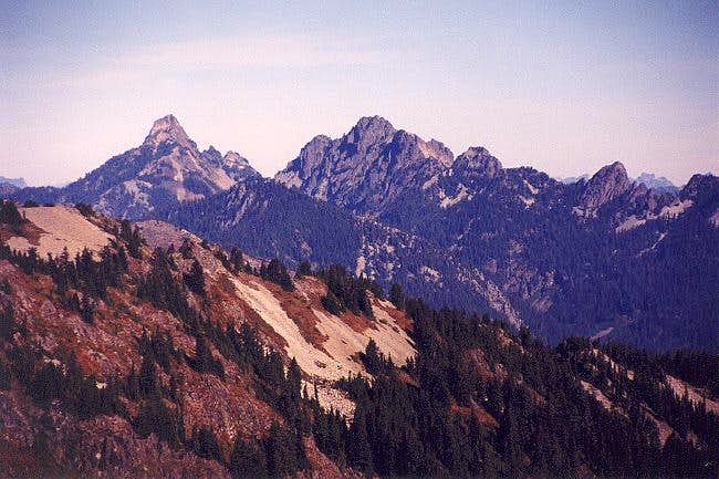 The view north from Tinkham...