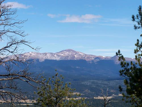 West side of Pikes Peak