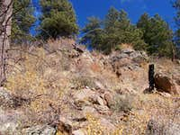Outcrops on Western Slope
