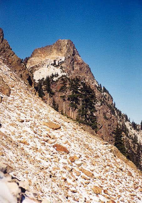 Kaleetan Peak from a boulder...