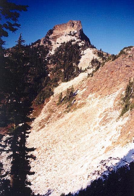Kaleetan from its South Ridge...