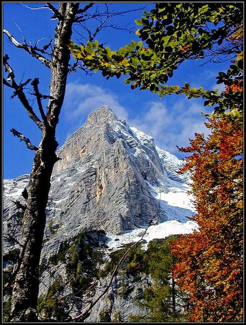 Kukova spica and its SE ridge
