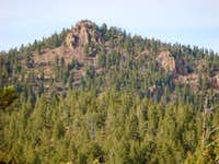 A peak in the Southern Rampart Range