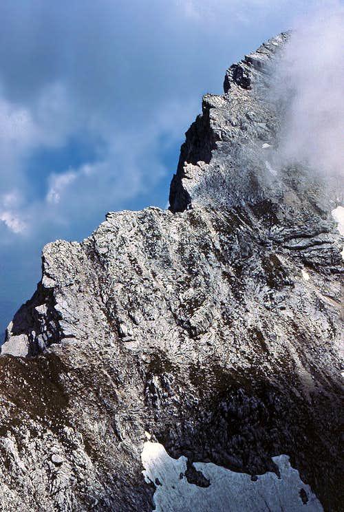 The SW ridge of Kukova spica