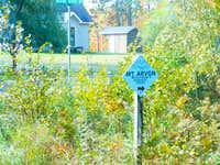First Mount Arvon sign