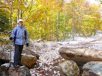 Sarah at the boulders