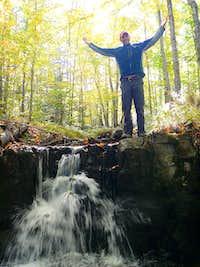 Above Sarah's Waterfall.