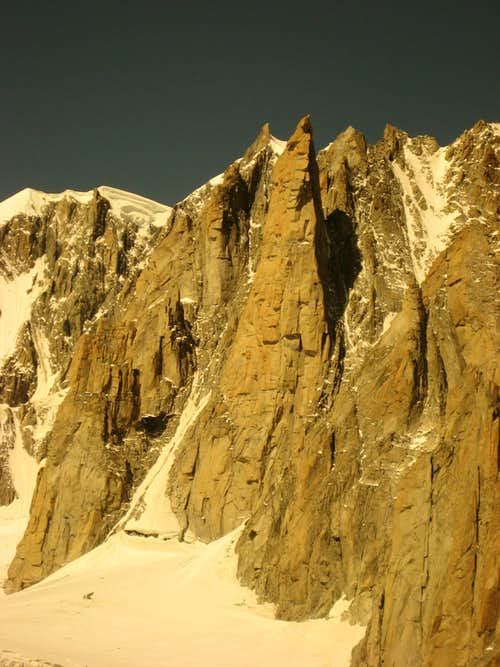 Grand Capucin - the granite tower