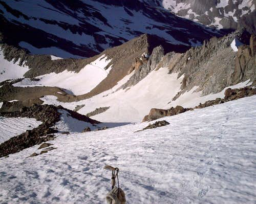 Weissmies S ascent