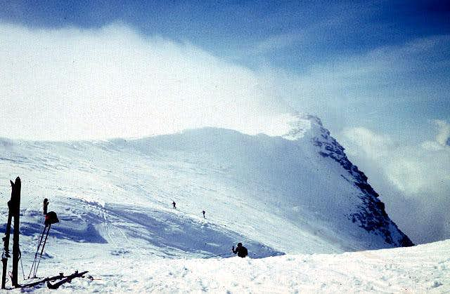 the Breithorn pass