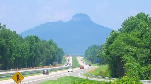 Pilot Mountain from Highway...