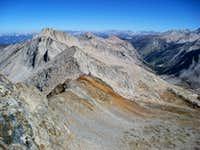 Glacir Ridge from Copper Mine Pass