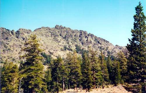 Raymond Peak from the western...