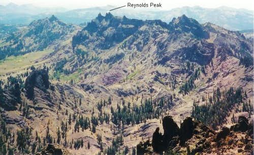Reynolds Peak seen from the...