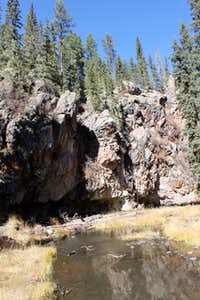 East fork of the Jemez River