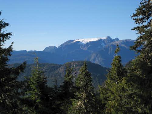 The Comox Glacier from Mt Drabble