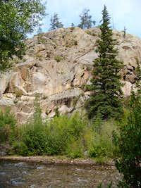 Chalk Creek Cliff
