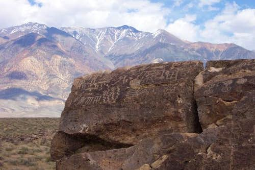 Petroglyphs and White...
