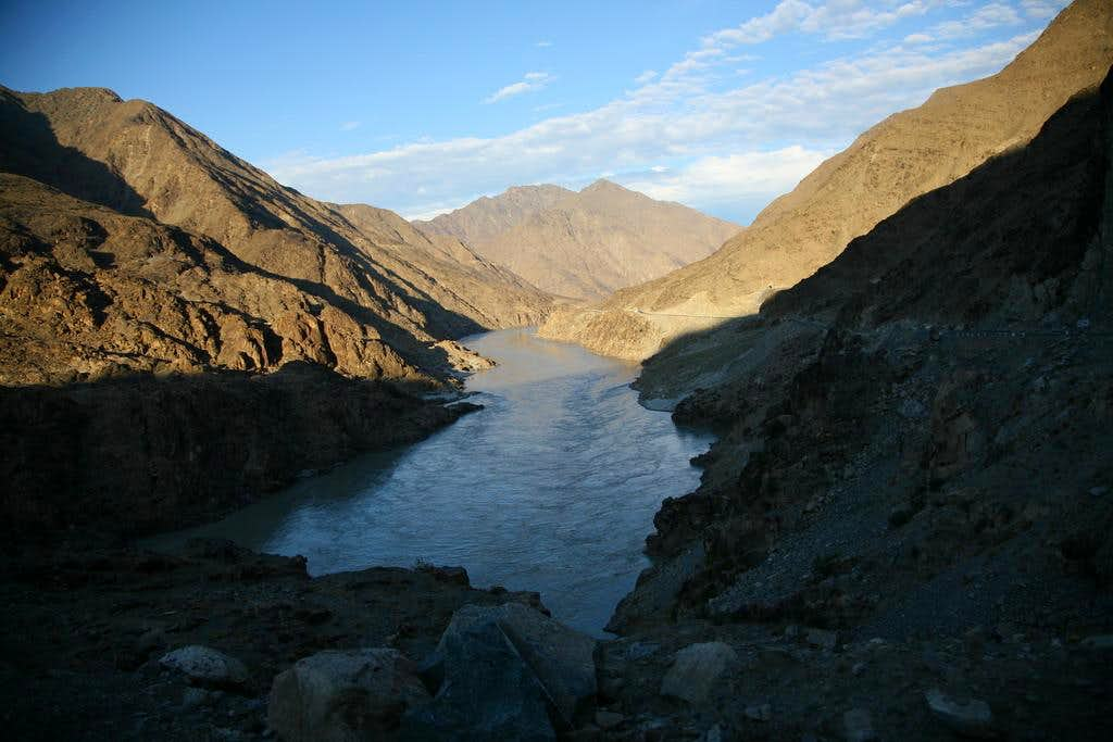Mighty Indus River