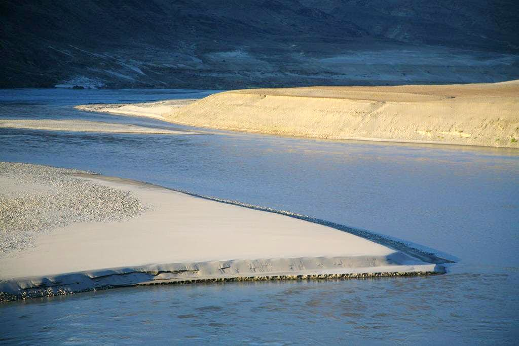 Indus River and Sand Dunes