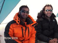 Kunal & myself (right).