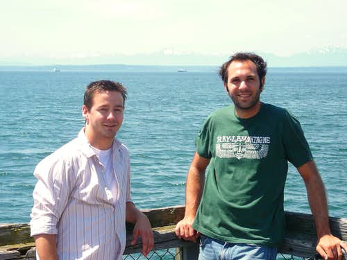 Steve (left) and me (Steve, right) in Seattle, WA