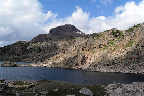 Lonesome Mountain & Lonesome Lake