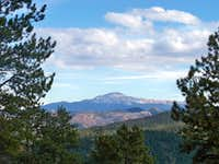 Pikes Peak from Tappan Mountain