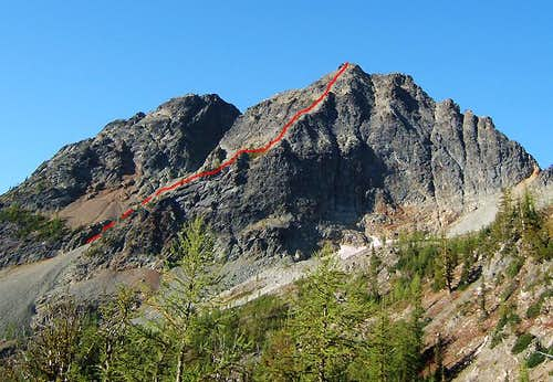 Copper Point East Face Route
