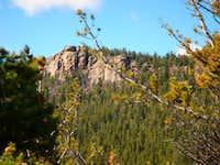 Cliff In Rampart Range