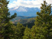 A Dark Pikes Peak...