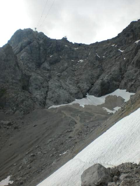 Zugspitz Route from Hut