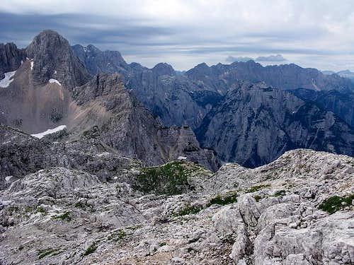 Great view from Kriški Podi plateau