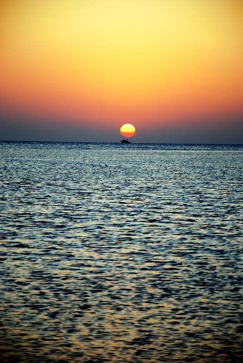 Sunrise at Hurghada