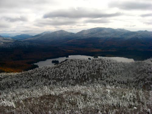 View from the summit in october