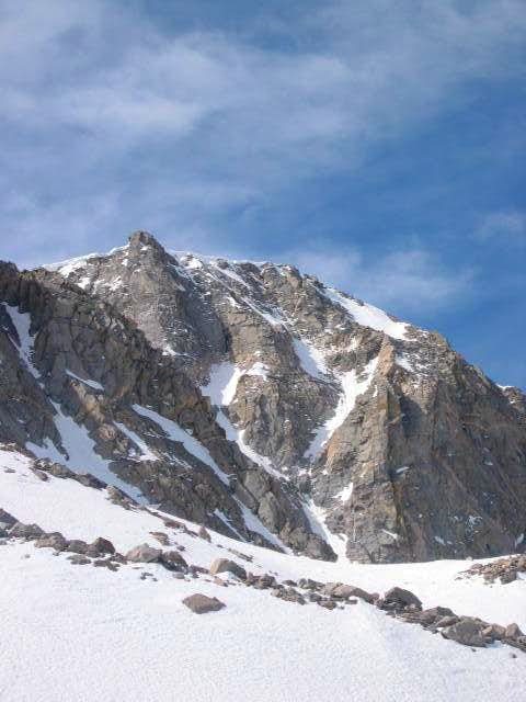 North Face of Mount Goethe....