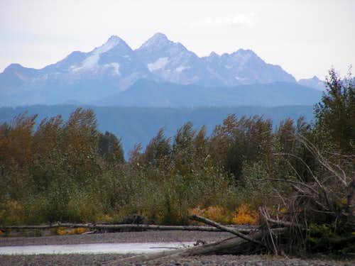 Twin Sisters from Nooksack River