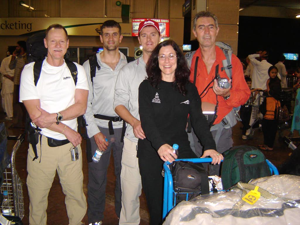 South African Broad Peak Expedition 2009
