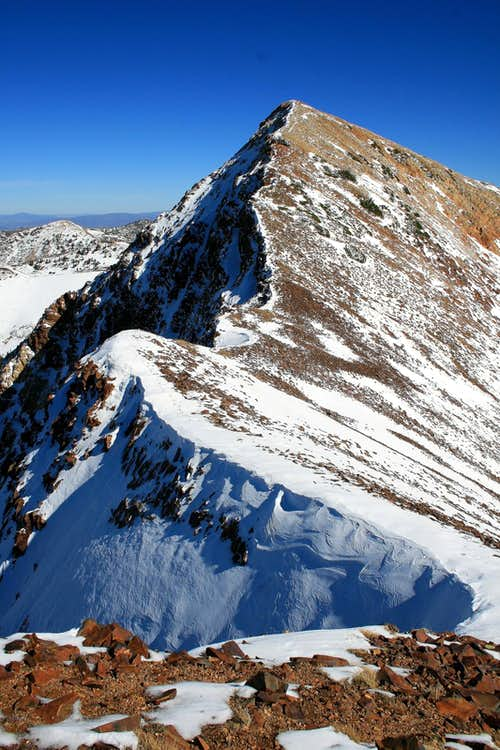 American Fork Twin\'s west summit.