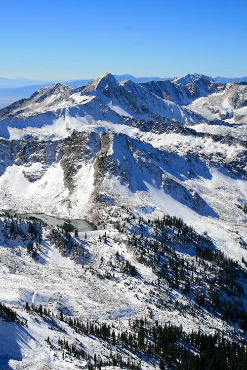 Alpine Ridge and White Pine Lake.