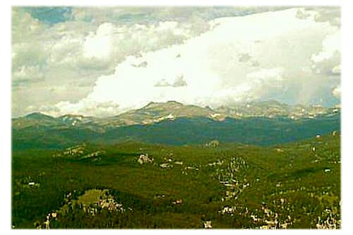 View of The Continental Divide