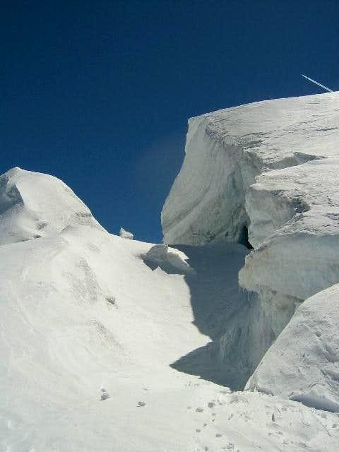 san matteo, near the summit -...