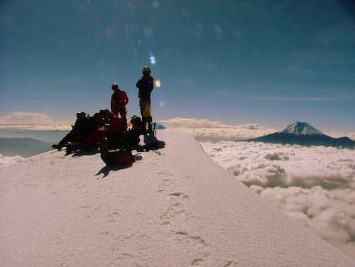 Iliniza Sur summit.