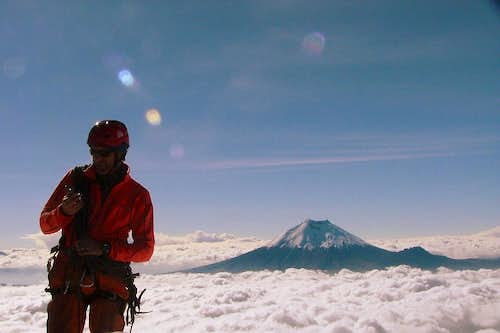 Cotopaxi from the summit.