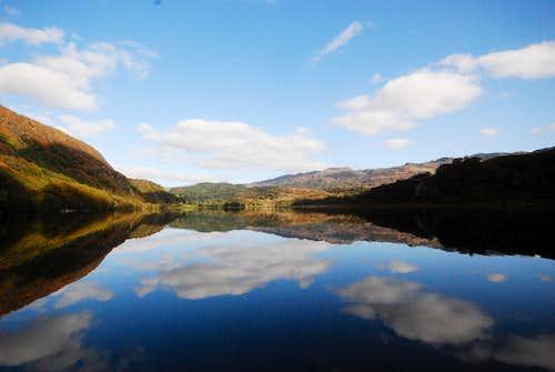 Llyn Dinas, North Wales