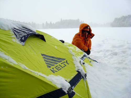 -22 F camping