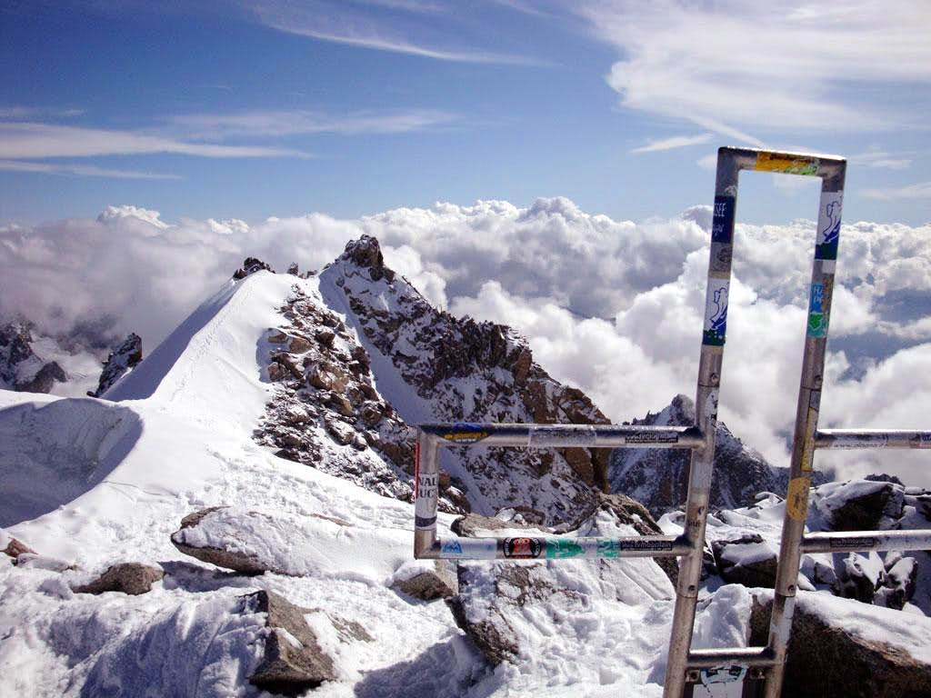 Mont Blanc du Tacul Summit