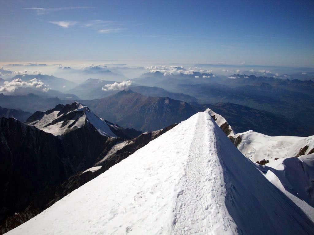 Mt Blanc Summit Ridge